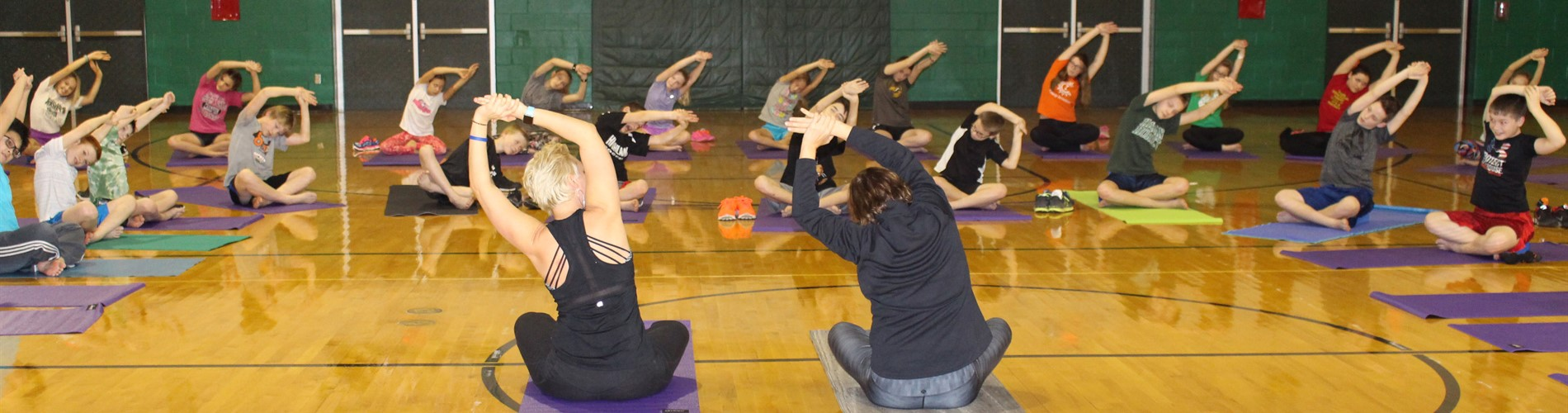 HMS Students Participate in Yoga Program