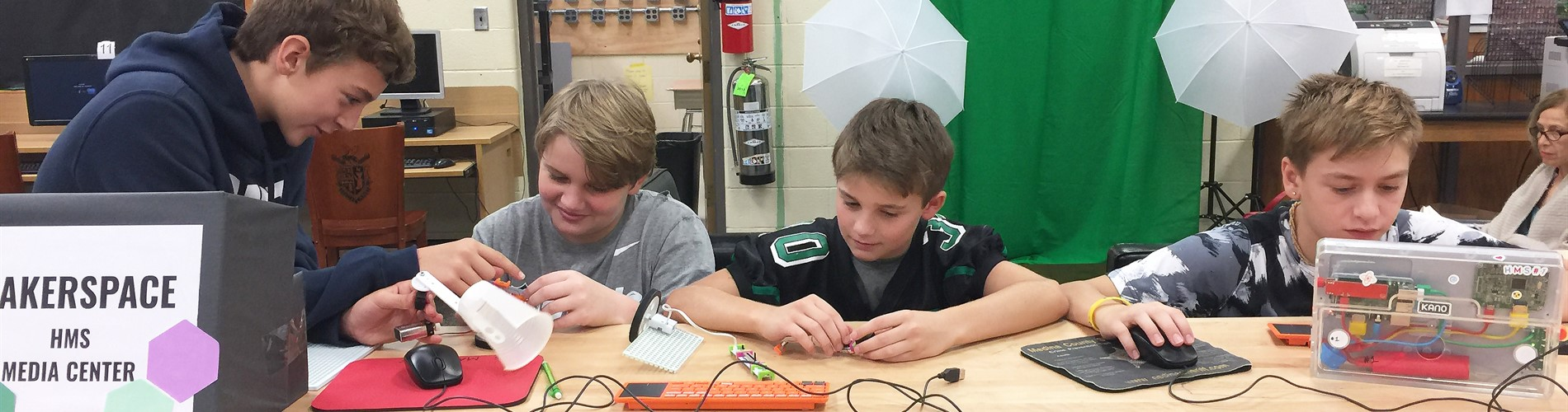 Highland Middle School Makerspace Grant