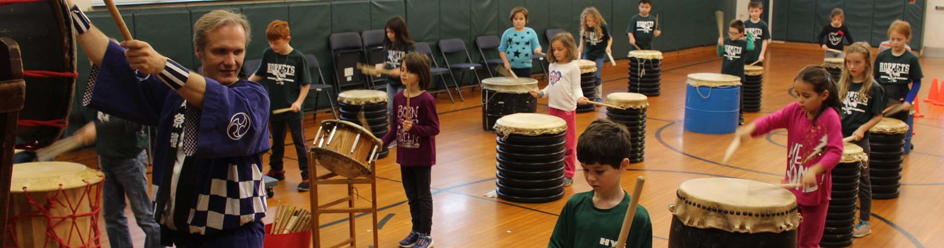 Taiko Residency at Sharon Elementary
